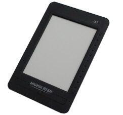 "Электронная книга Highscreen Alex 605 6"" E-ink/microSD"