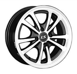 Автомобильный диск литой LS 206 6,5x15 4/100 ET 48 DIA 54,1 BKF