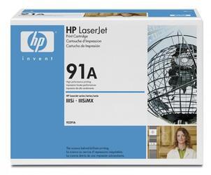 Картридж лазерный HP 91A (92291A)