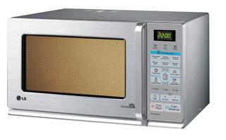 Микроволновая печь LG MH-6348DRS ( 23л, комби 2200Вт, гриль, электронное управление, дисплей)