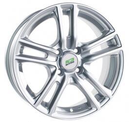 Автомобильный диск литой Nitro Y242 6,5x15 4/98 ET 32 DIA 58,6 Sil