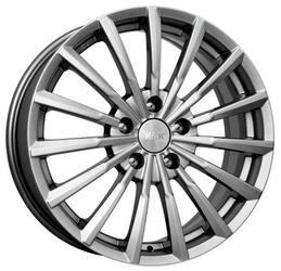 Автомобильный диск  K&K Акцент 7x17 5/114,3 ET 41 DIA 67,1 Блэк платинум