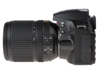 Зеркальная камера Nikon D3200 Kit 18-140mm VR черный
