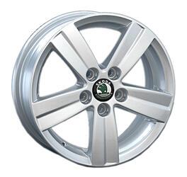 Автомобильный диск литой Replay SK33 7x17 5/112 ET 49 DIA 57,1 Sil