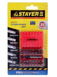 "Набор бит STAYER ""STANDARD"" 2610-H33"