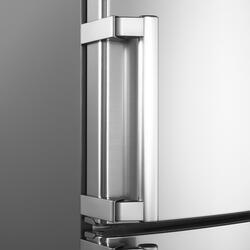 Холодильник с морозильником LG GA-B489ZVCK серебристый