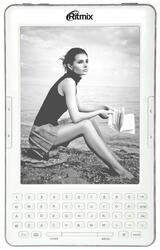6'' Электронная книга Ritmix RBK-750 белый