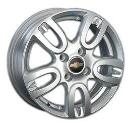 Автомобильный диск литой Replay GN44 6x15 4/100 ET 45 DIA 56,6 Sil