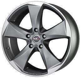 Автомобильный диск литой MAK Raptor5 9,5x20 5/120 ET 20 DIA 72,6 Graphite Mirror Face