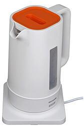 Электрочайник Mystery MEK-1618 белый, оранжевый