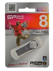 Память USB Flash Silicon Power Firma F 80 8 Гб