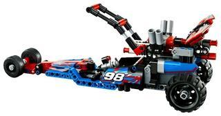 Конструктор LEGO Technic Багги с инерционным двигателем 42010