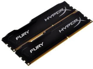 Оперативная память Kingston HyperX FURY Black Series [HX316C10FBK2/8] 8 ГБ