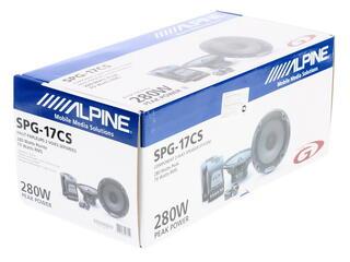 Компонентная АС Alpine SPG-17CS