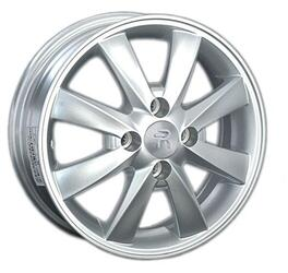 Автомобильный диск Литой Replay LF7 5x14 4/100 ET 45 DIA 56,1 Sil