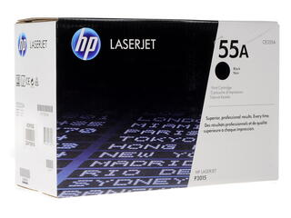 Картридж лазерный HP 55A (CE255A)