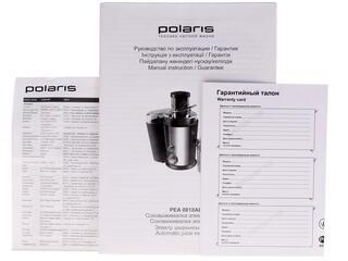Соковыжималка Polaris PEA 0818A серебристый