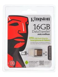 Память OTG USB Flash Kingston DT MicroDuo  16 Гб