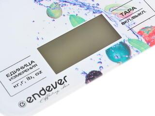 Кухонные весы Endever KS-512 белый