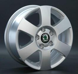 Автомобильный диск литой Replay SK7 6x15 5/114,3 ET 49 DIA 65,1 Sil
