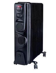 Маслонаполненный радиатор Supra ORS-11F-2N black