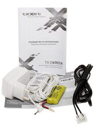 Телефон беспроводной (DECT) teXet TX-D6905A