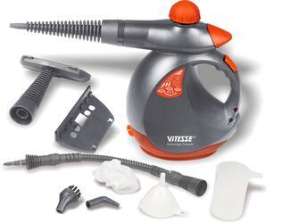 Пароочиститель Vitesse VS-330 черный, красный