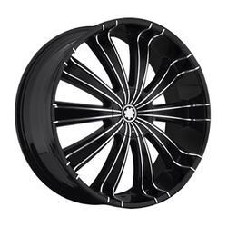 Автомобильный диск Литой Yokatta MODEL-31 8,5x20 5/114,3 ET 50 DIA 66,1 BKF