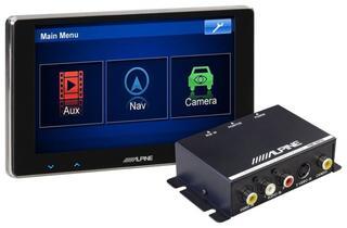Автомобильный монитор Alpine TME-S370