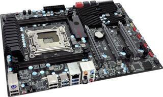 Плата EVGA  X79 SLI X79 4xDDR3-2133 3xPCI-Ex16(16+4)  8ch 4xSATA 2xSATA3 4xUSB3 GLAN ATX