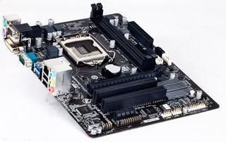 Плата Gigabyte LGA1150 GA-H81M-S2PV H81 2xDDR3-1600 PCI-Ex16 DVI/DSub 8ch 2xSATA3 2xSATA 2xUSB3 GLAN mATX