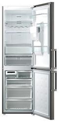 Холодильник с морозильником Samsung RL59GDEIH серебристый