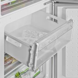 Холодильник с морозильником BOSCH KGS 36XL20 R серебристый