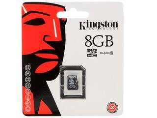 Карта памяти Kingston SDC10/8GBSP microSDHC 8 Гб