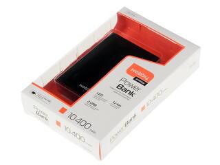 Портативный аккумулятор NOBBY PB-004 черный