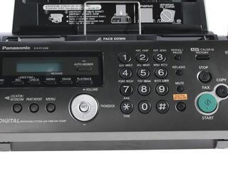 Факс Panasonic KX-FC268RUT