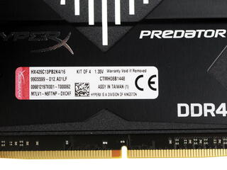 Оперативная память Kingston HyperX Predator [HX426C13PB2K4/16] 16 ГБ