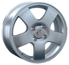 Автомобильный диск литой Replay RN50 6x15 4/112 ET 39 DIA 60,1 Sil