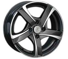 Автомобильный диск Литой LS 264 6x14 4/100 ET 40 DIA 73,1 BKF