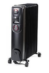 Масляный радиатор Supra ORS-09T-2N черный