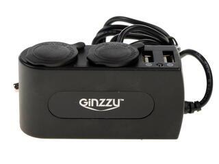 Разветвитель автоприкуривателя GINZZU GA-4615UB