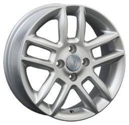 Автомобильный диск литой Replay HND67 6x15 4/100 ET 48 DIA 54,1 Sil