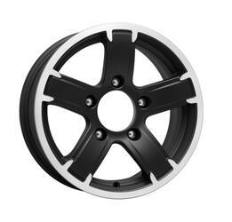 Автомобильный диск литой K&K Ангара 6,5x15 5/139,7 ET 40 DIA 95,3 Алмаз МЭТ