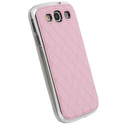 Чехол Krusell AVENYN MOBILE UNDERCOVER для Samsung I9300 Galaxy S III(89683), искусственная кожа, розовый