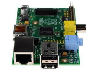 Микрокомпьютер Raspberry Pi model B
