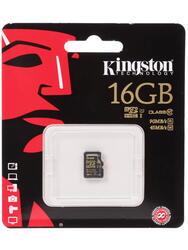 Карта памяти Kingston SDCA10/16GBSP microSDHC 16 Гб