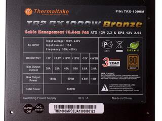 Блок питания Thermaltake TR2 RX 1000W [TRX-1000M]