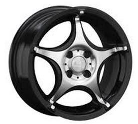 Автомобильный диск Литой LS 107 6,5x15 4/98 ET 32 DIA 58,5 BKF