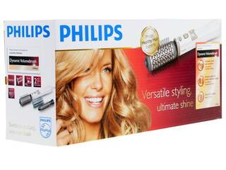 Фен-щетка Philips HP 8664 белый