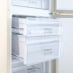 Холодильник с морозильником Samsung RB33J3420EF/WT бежевый